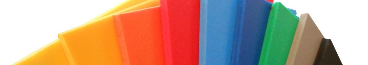 Geschuimd PVC Kleur