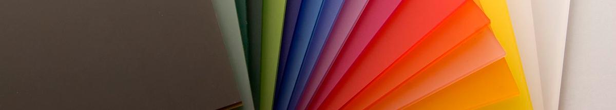 Plexiglas Kleur plaat