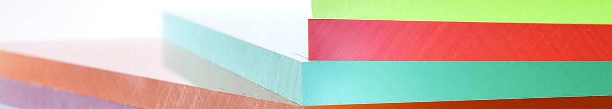 Plexiglas plaat kleur