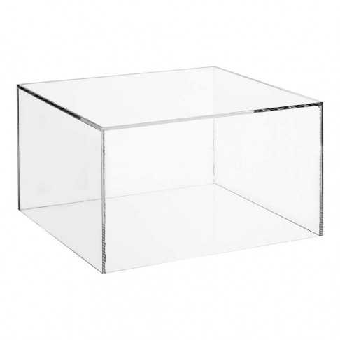 Plexiglas Stofkap 350 x 350 x 200 mm