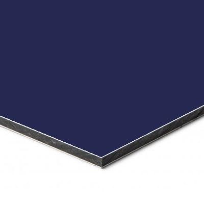 Aluminium Sandwichpaneel Blauw 5022