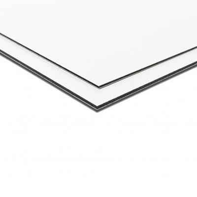 Aluminium Sandwichpaneel Wit 6 mm