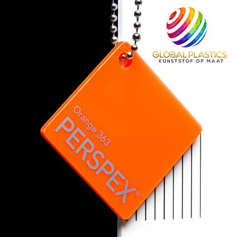Perspex Oranje 363
