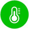 Alumnium Sandwichpaneel Temperatuur