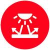 Geschuimd PVC UV-bescherming