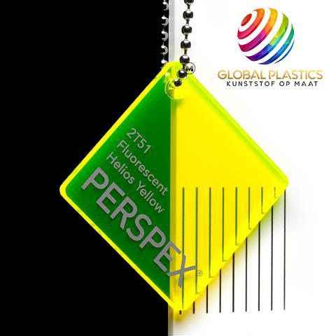 Perspex Fluor Helios Yellow 2T51