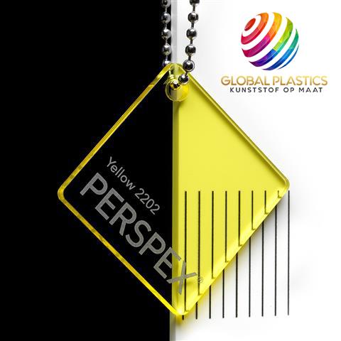 Perspex Geel 2202
