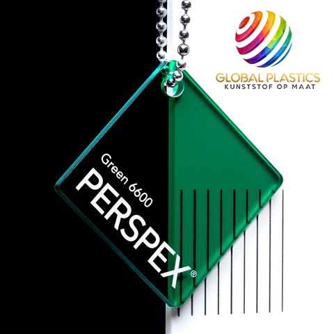 Perspex Groen 6600