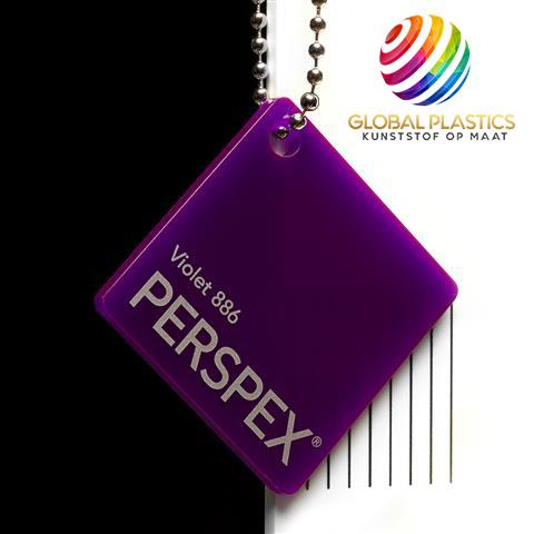 Perspex Violet 886